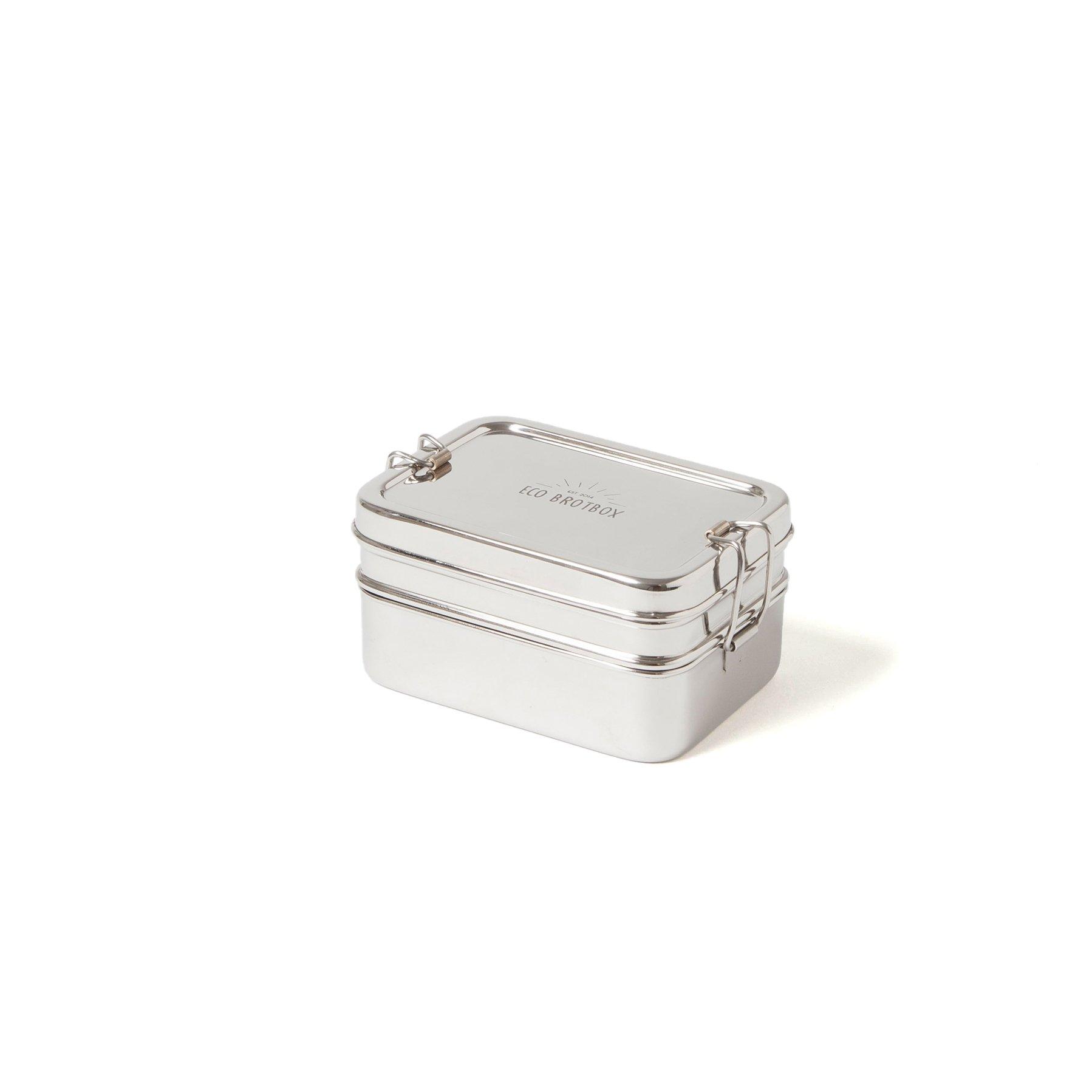 dabba magic zweilagiger behälter mit separater snackbox inkl. deckel